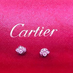 Jewelry - Cartier Diamond Earrings